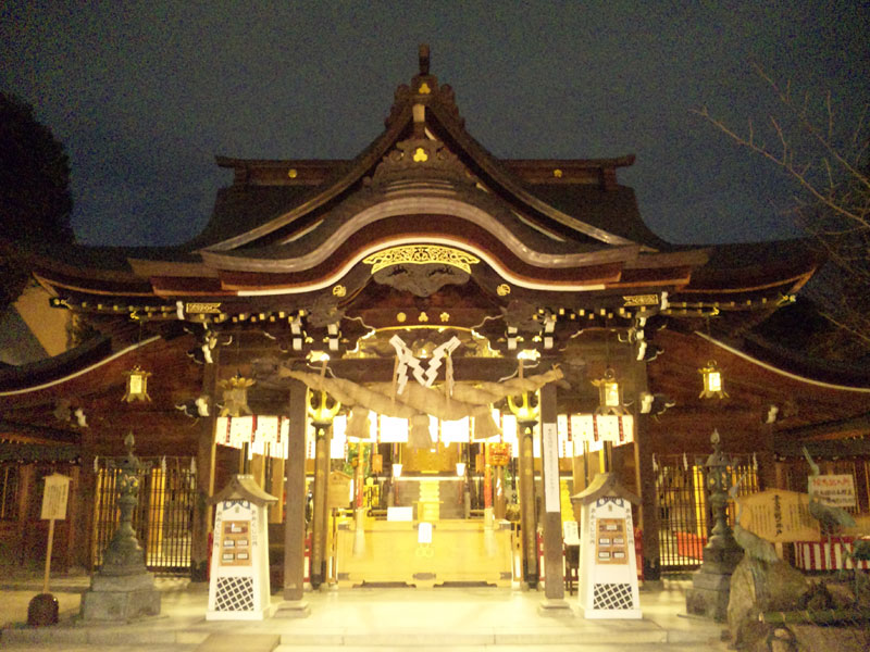 櫛田神社の社殿