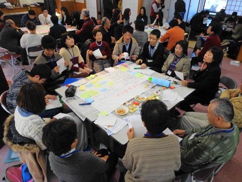総社市山手地区地域包括ケアを考えるワークショップ