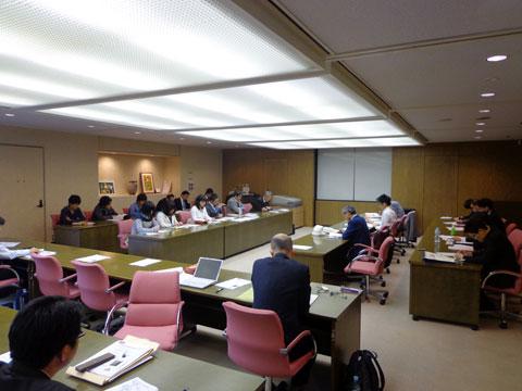 「西川緑道公園界隈活性化まちづくり協議会」に向けた意見交換会