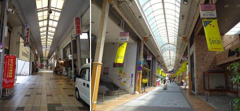 津山市の商店街