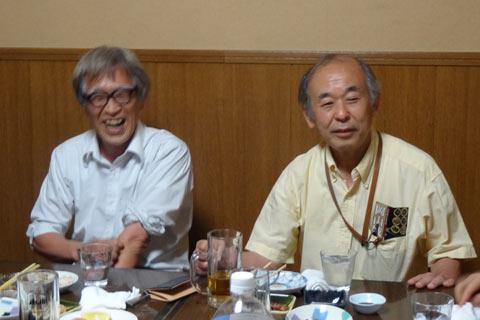 右が熊本大学両角光男理事・副学長