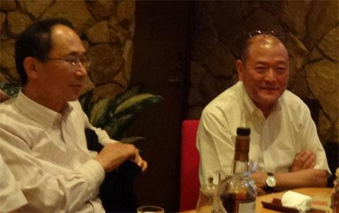 松田社長と梶谷社長