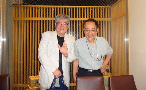 山陽新聞岡山さん(右)