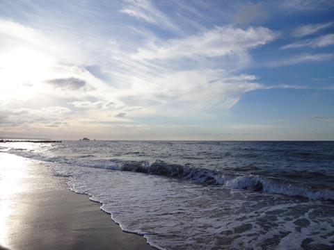 日本海は因幡の国にて