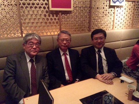 日本商工会議所幹部と新年会