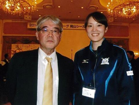 岡山シーガルス山口舞選手