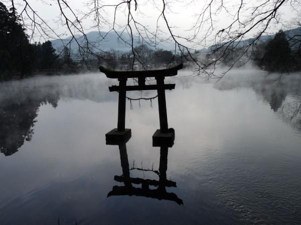 大分 金鱗湖