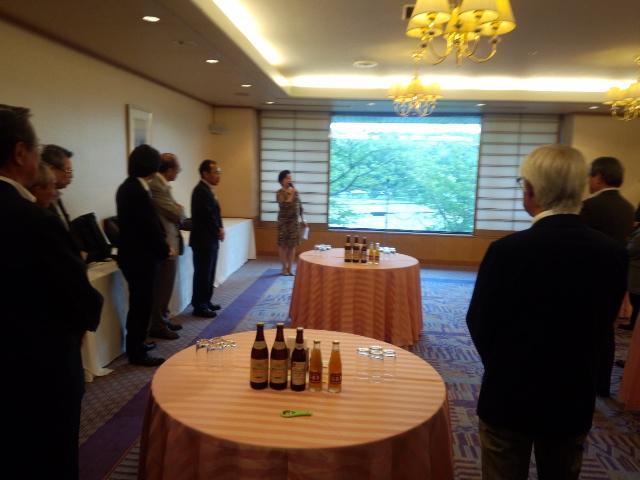 岡山経済同友会の懇親会