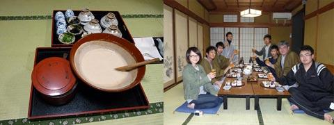 清山荘で夕食