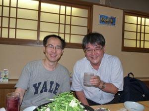 山村延郎先生と記念写真